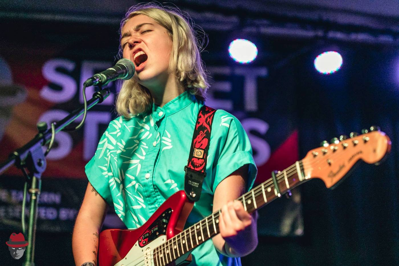 """Snail Mail performed at Secret Stages in 2017, before the release of her EP """"Lush."""" Photo by Secret Playground Photography for Secret Stages"""