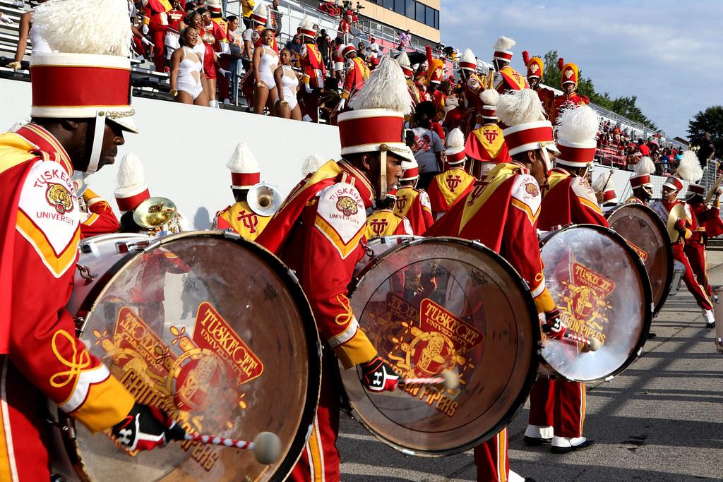 Tuskegee University drum players