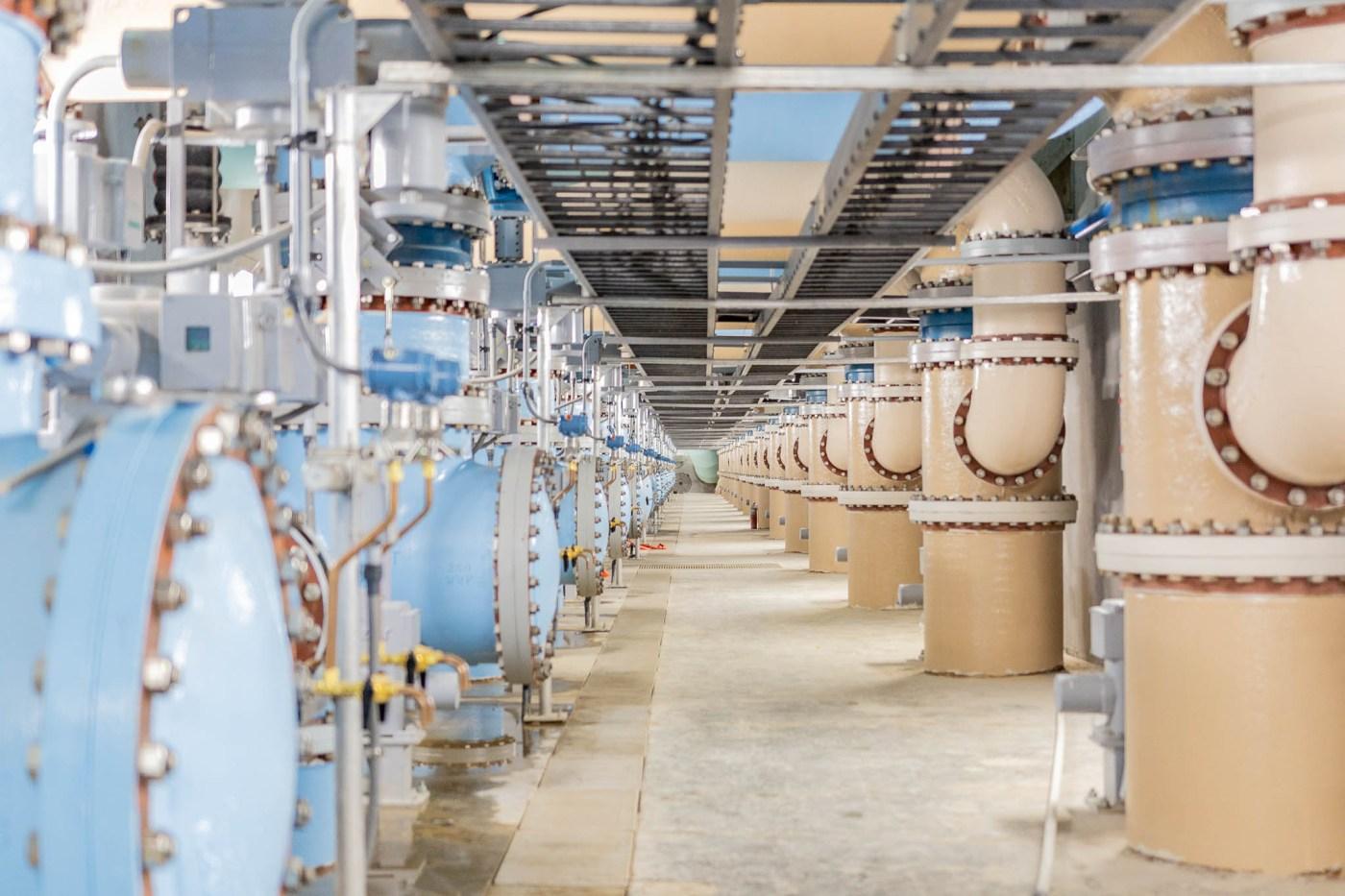 BWWB new filtration building