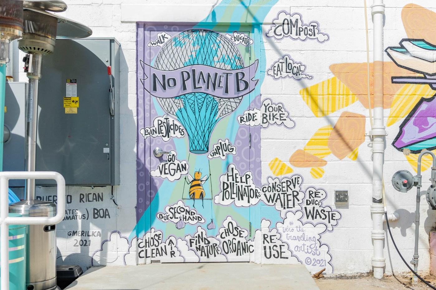 Sustainability mural