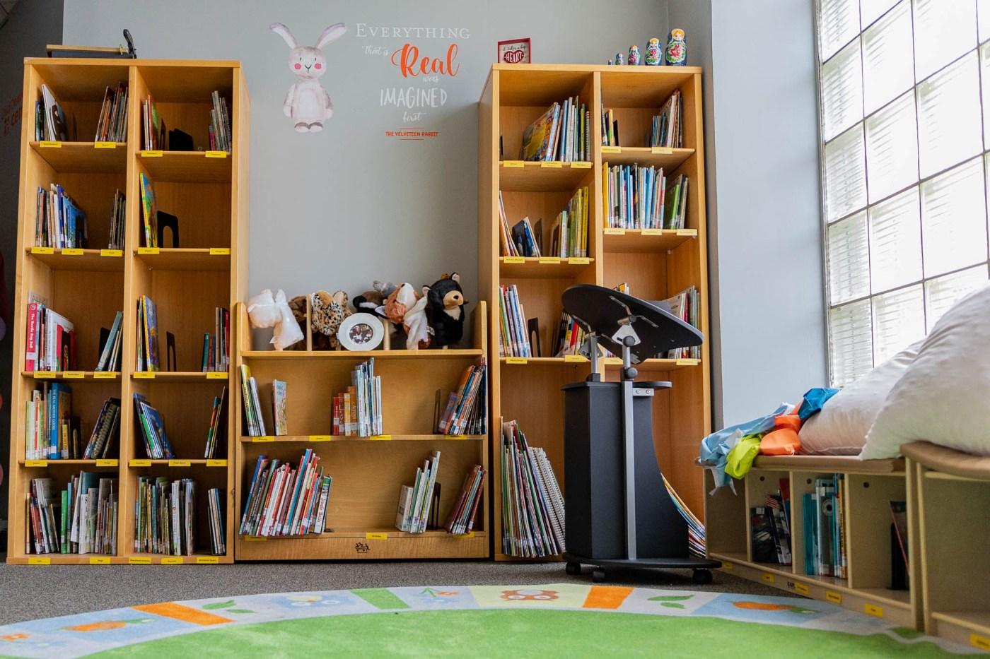 indoor classroom, YWCA