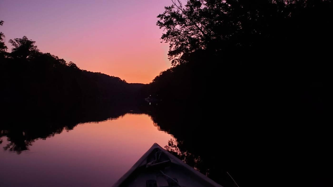 sunrise, kayak fishing tournament