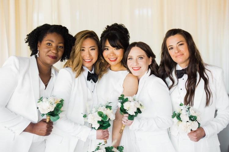 Women's wedding, Mary Fehr