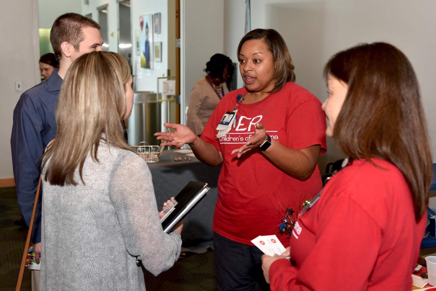 Children's of AL nursing career fair