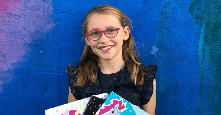 Meet the local elementary student who's published children's books