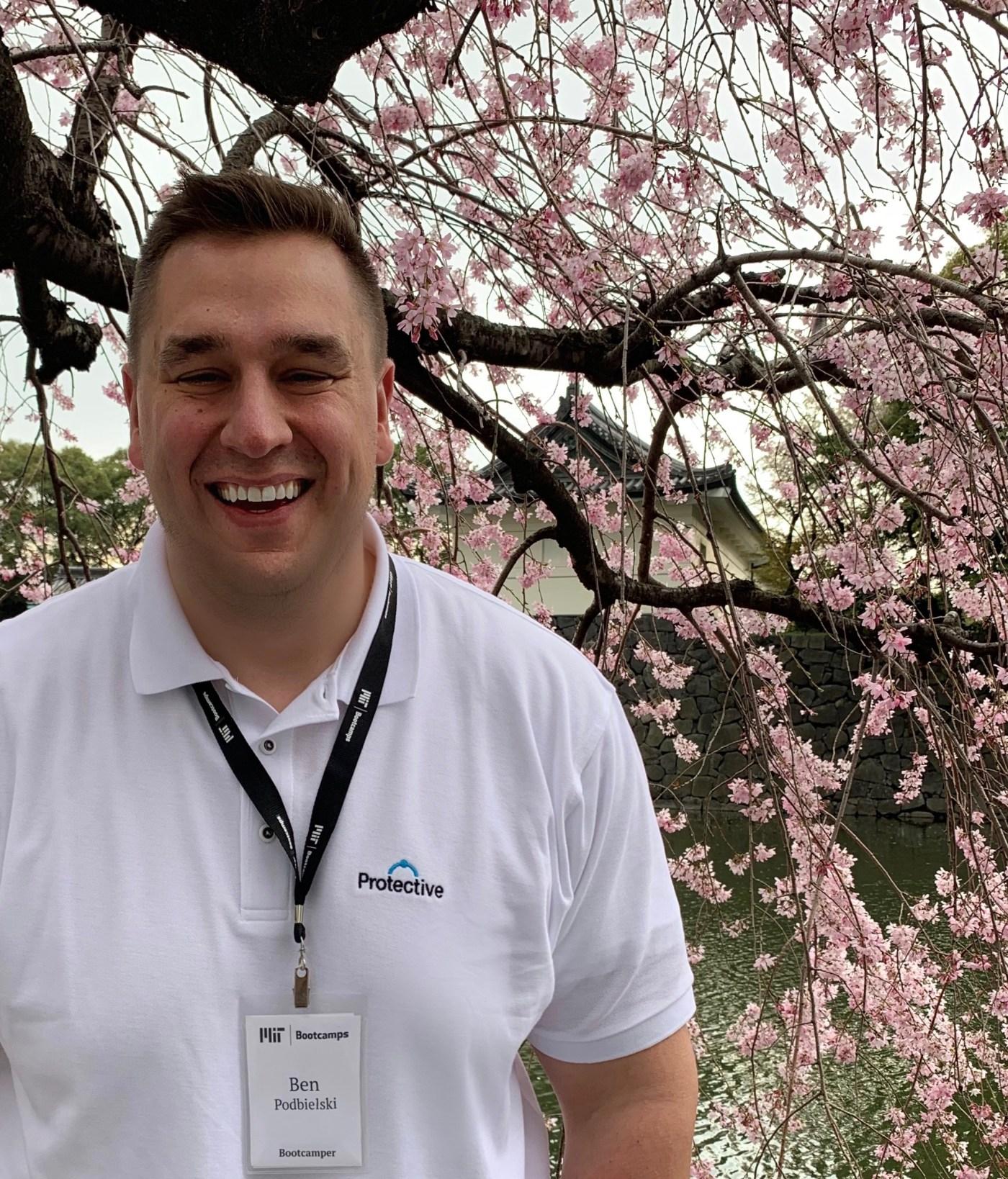 Ben Podbieldski in Japan