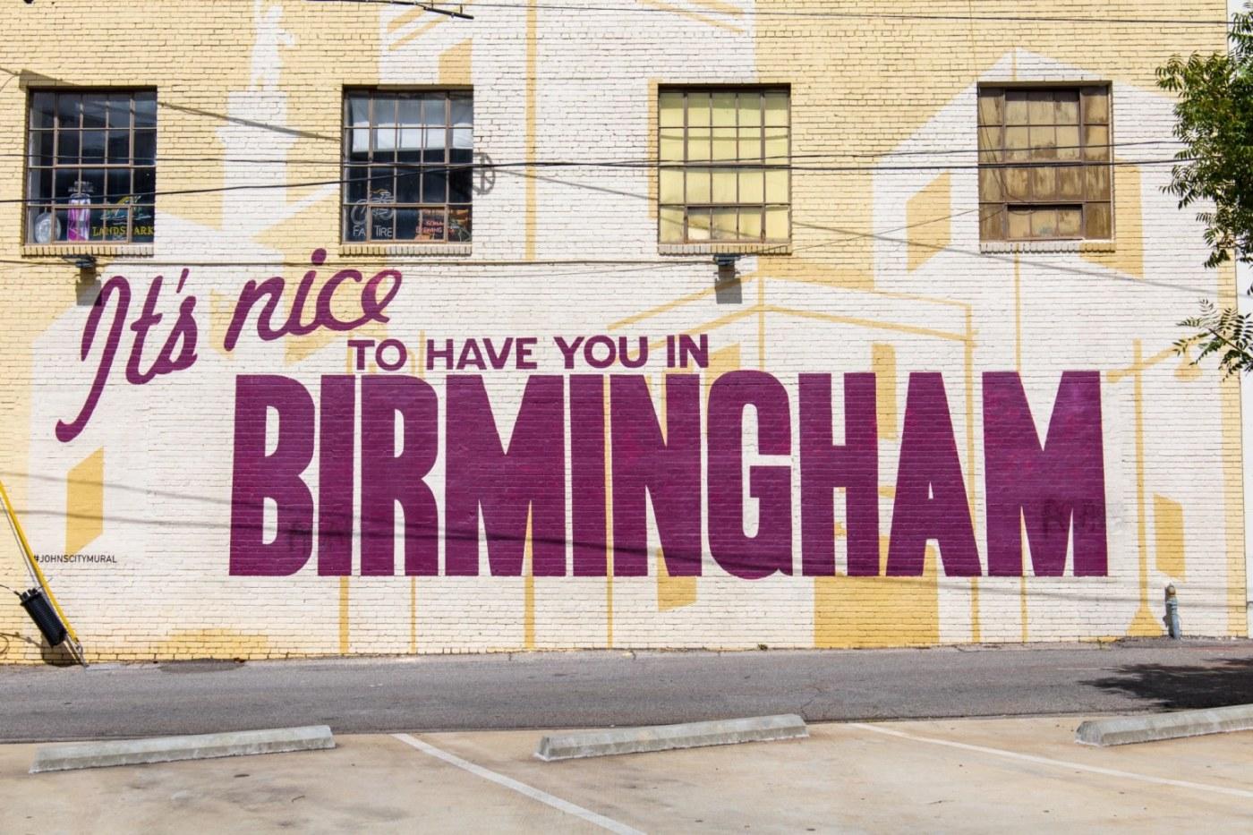 Birmingham's murals