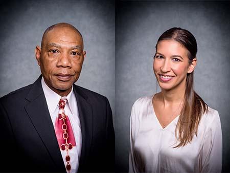 Two of Birmingham's healthcare heroes