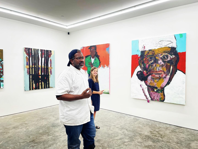 New art exhibit opening: Roscoe Hall's Jerusalem Heights