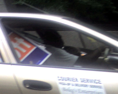Abbott signs in transit