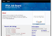 Ipsa Job Board Screenshot