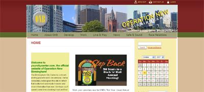 ONB new homepage