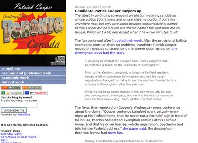Patrick Cooper VA screenshot