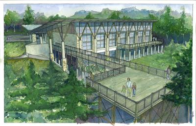 4-H Center Columbiana rendering