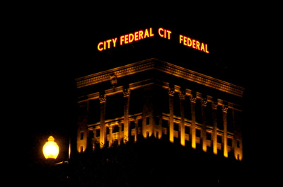 City Federal signage