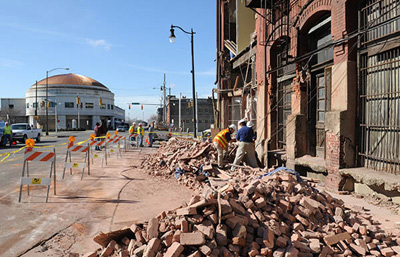 Morris Avenue building collapse