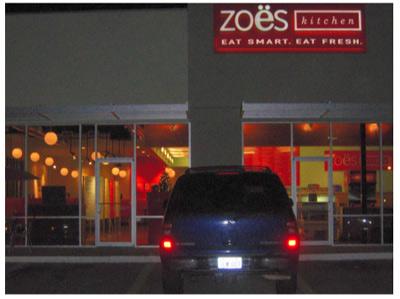 Zoe's in Houston, Texas