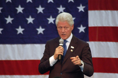 Bill Clinton in Birmingham