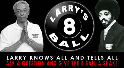 Larry's 8 Ball logo - WERC 960 AM