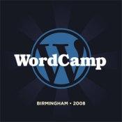 WordCamp Birmingham logo - sunburst