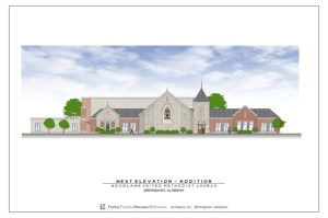 new Woodlawn United Methodist Church Design
