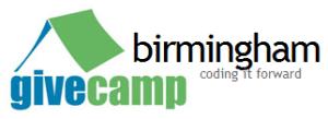 GiveCamp Birmingham logo