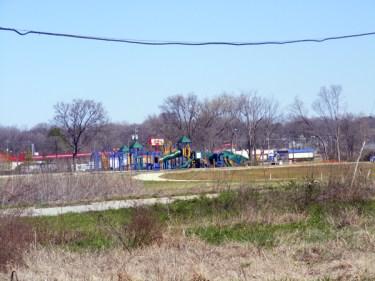 Greenwood Park in progress