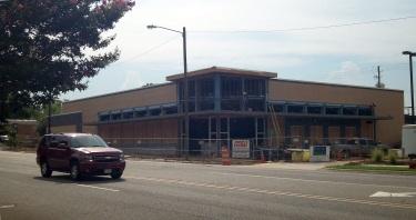 Walgreens under construction