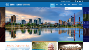 City of Birmingham website 2014 650