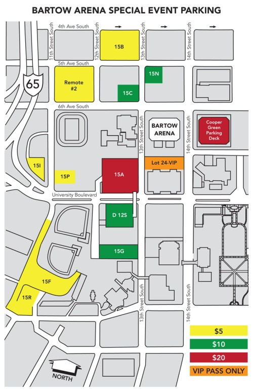 Parking Map 2014