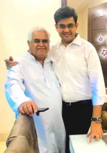 Sonu sharma father