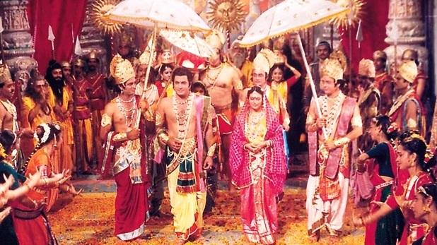 "Most viewed TV show- ""Ramayana"""