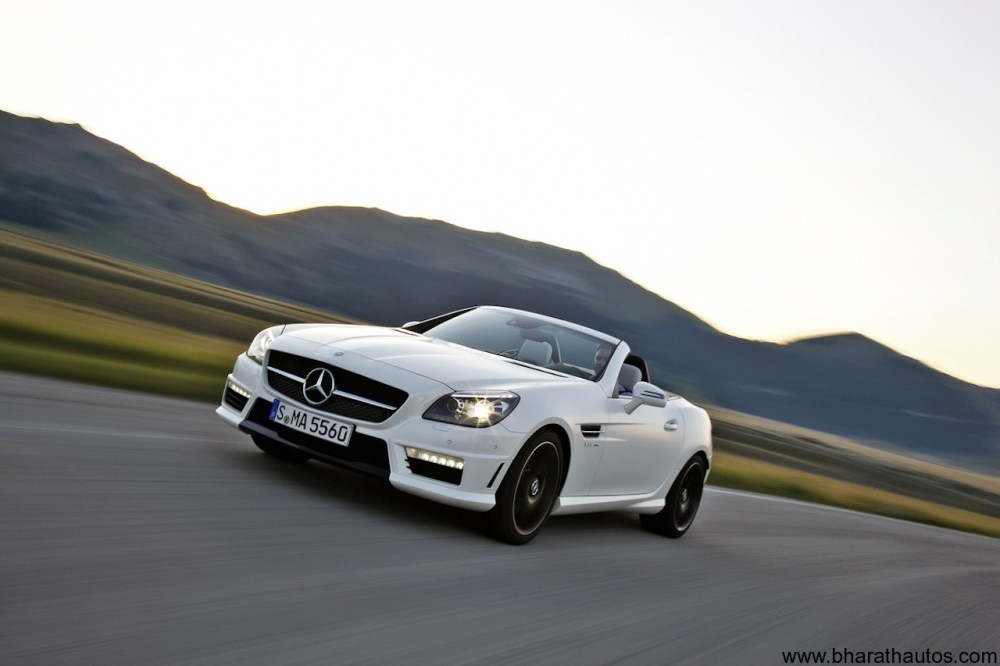 medium resolution of 2012 mercedes benz slk55 amg frontview