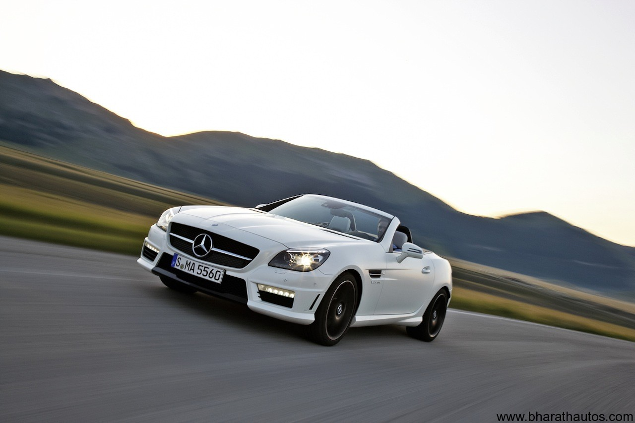 hight resolution of 2012 mercedes benz slk55 amg frontview