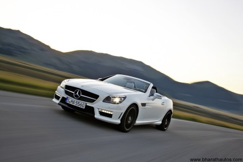 small resolution of 2012 mercedes benz slk55 amg frontview