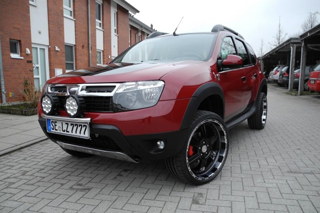 Renault Duster Dc Modified