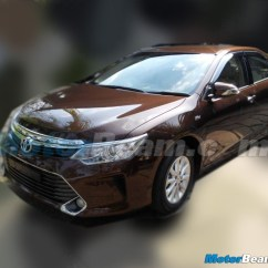 All New Camry India Launch Toyota Grand Veloz 2015 Facelift Spied In To On April 30 Here