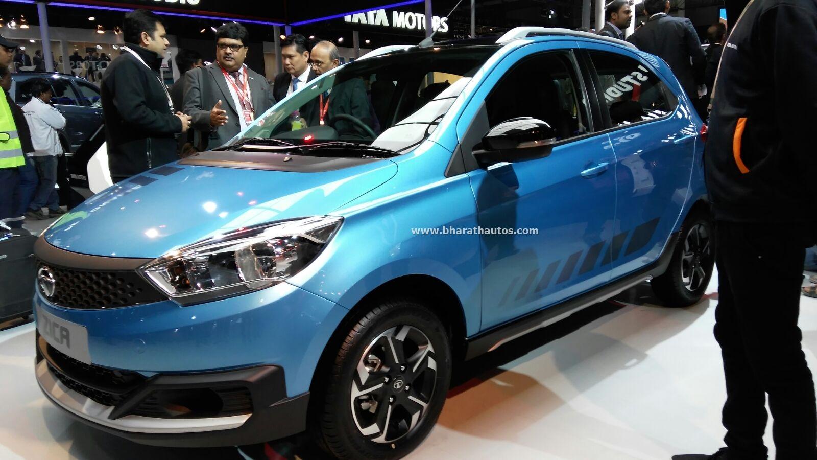 Tata Zica Personalized Adventure Version Showcased At 2016