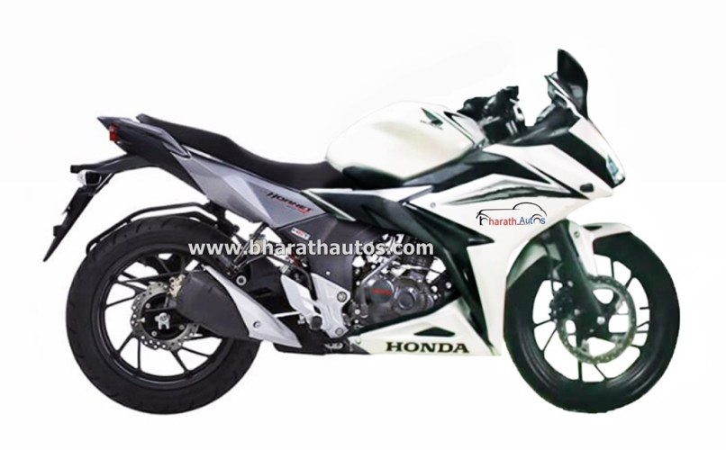 Rendered Honda Cb Hornet 160r Derived Full Fairing Motorcycle On The Works