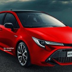 New Corolla Altis Launch Date Kapasitas Oli Mesin Grand Avanza 2016 Next Gen 2019 Toyota Rendered In Multiple Colours Will Underpin The With Its Latest Global Architecture Tnga That Is Designed To Offer A Lower Centre Of Gravity Than