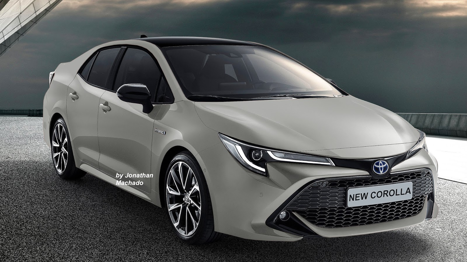 new corolla altis launch date in india grand avanza e 2015 next gen 2019 toyota rendered multiple colours the sedan may debut by end of 2018 or early