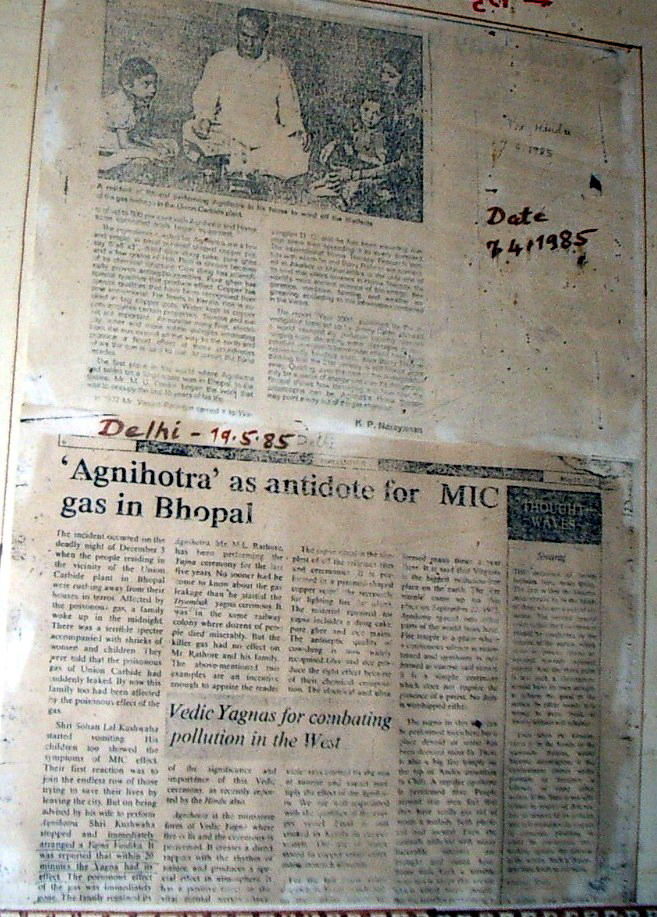 BHOPAL GAS TRAGEdY – POWER OF AGNIHOTRA SAVED A FAMILY (2/4)