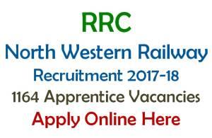 RRC Jaipur NWR Apprentice Recruitment 2017
