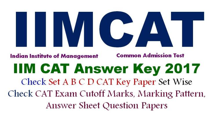 CAT Answer Key Paper