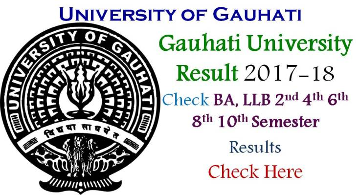 Check BA LLB Gauhati University Result 2017 Semester