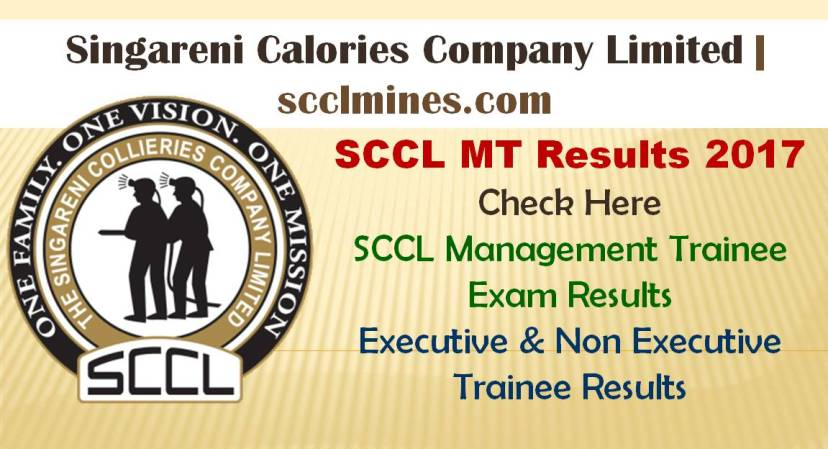 SCCL MT Results Dates