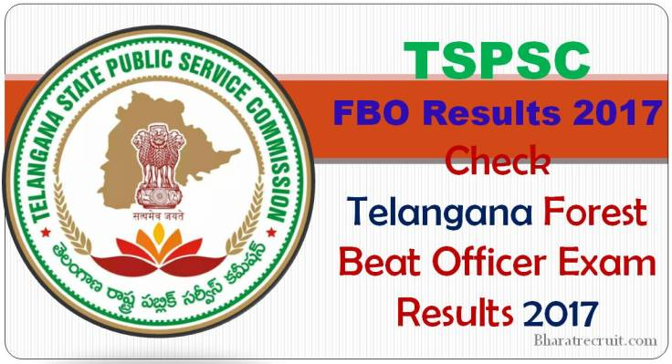 Telangana TSPSC Forest Beat Officer Results