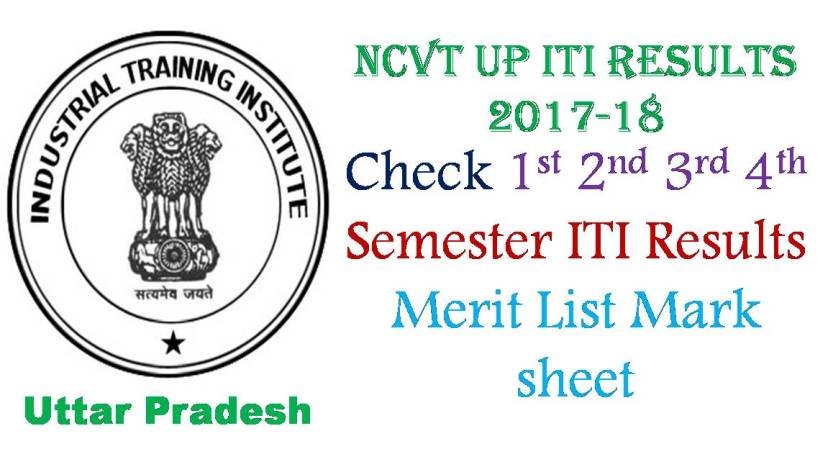 NCVT MIS UP ITI Results Merit List