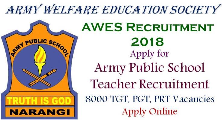 AWES Teacher Recruitment 2018