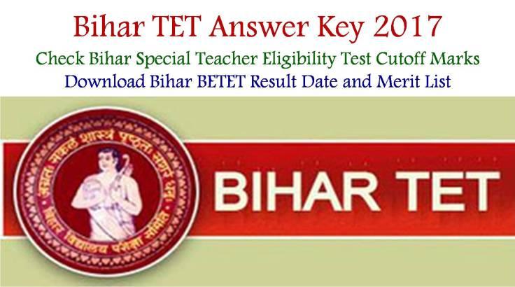 Bihar BETET Key Paper